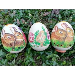 Pisanka Jajo struś na Wielkanoc